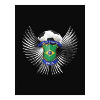 Brazil Soccer Champions Custom Flyer
