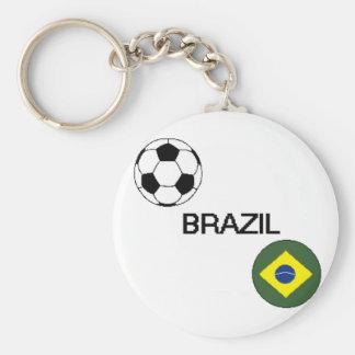 Brazil Soccer Keychain