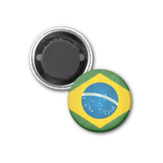 Brazil Style 3 Cm Round Magnet