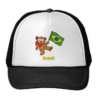 Brazil Teddy Bear Trucker Hat