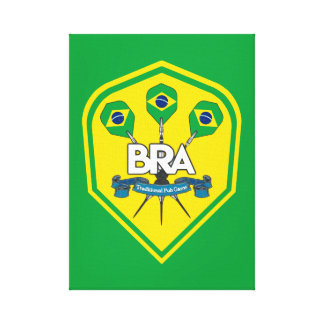 Brazil Traditional Pub Games Canvas Print