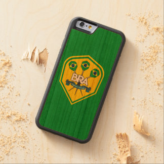 Brazil Traditional Pub Games Carved Cherry iPhone 6 Bumper Case