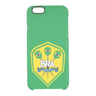 Brazil Traditional Pub Games Clear iPhone 6/6S Case