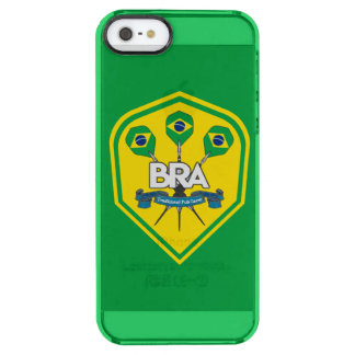 Brazil Traditional Pub Games Clear iPhone SE/5/5s Case