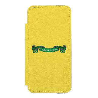 Brazil Traditional Pub Games Incipio Watson™ iPhone 5 Wallet Case