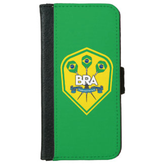 Brazil Traditional Pub Games iPhone 6 Wallet Case