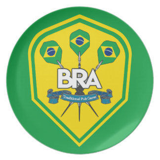 Brazil Traditional Pub Games Plate