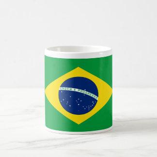 Brazil World Flag Basic White Mug