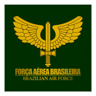 Brazilian Air Force Poster