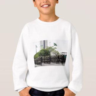Brazilian_Army_Parade Sweatshirt