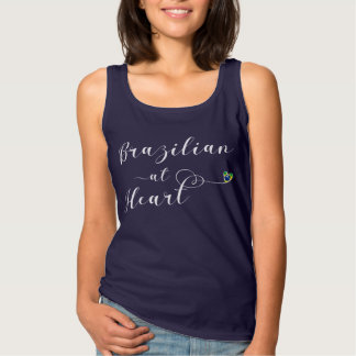 Brazilian At Heart Tank Top, Brazil