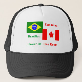 Brazilian Canadian Trucker Hat