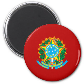 Brazilian coat of arms magnet