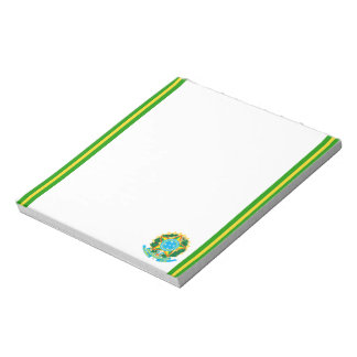 Brazilian Coat of arms Notepad