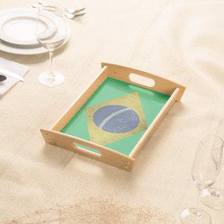 Brazilian diamond serving tray