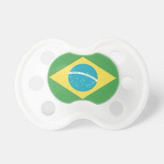 Brazilian Flag Baby Pacifier