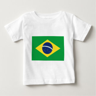 Brazilian flag baby T-Shirt
