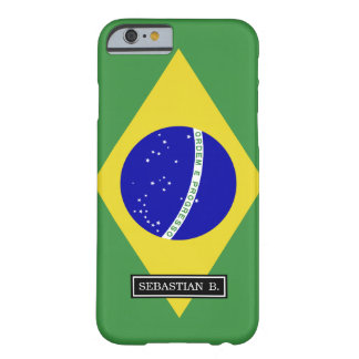 Brazilian Flag Barely There iPhone 6 Case