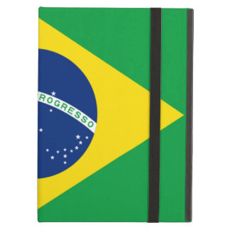 Brazilian flag cover for iPad air