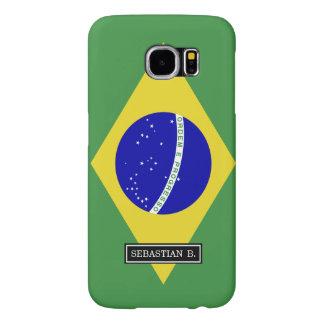 Brazilian Flag Samsung Galaxy S6 Cases
