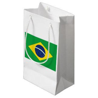 Brazilian flag small gift bag