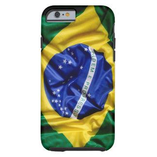 Brazilian Flag Tough iPhone 6 Case