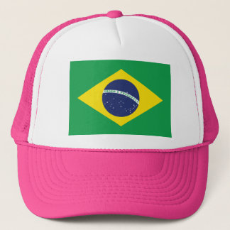 Brazilian Flag. Trucker Hat