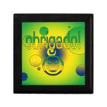 Brazilian Gifts Thank You / Obrigado + Smiley Face Gift Box