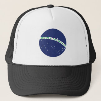 Brazilian Globe Trucker Hat