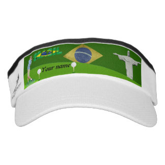 Brazilian golfer visor