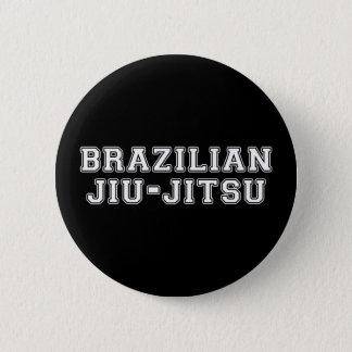 Brazilian Jiu Jitsu 6 Cm Round Badge