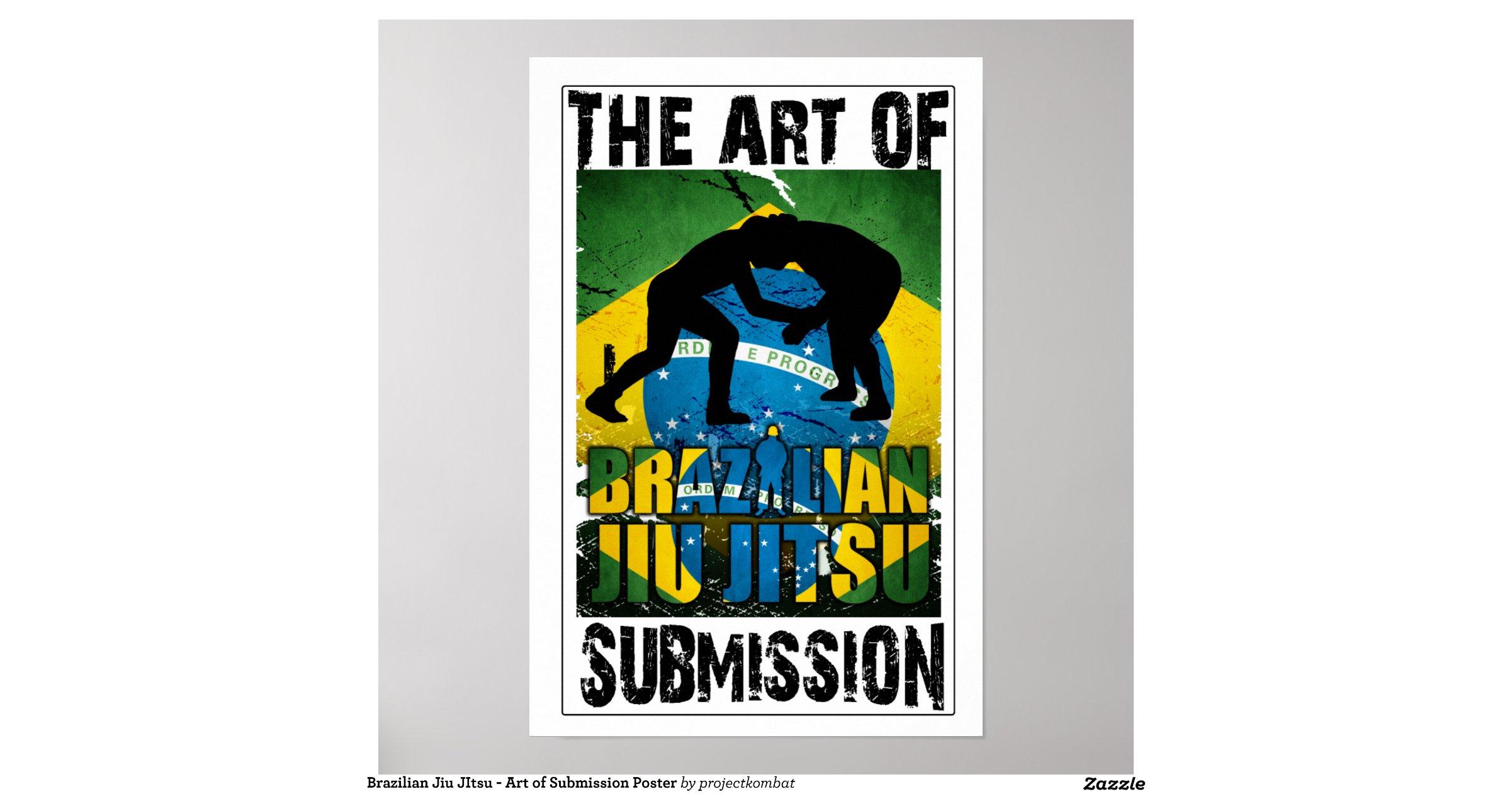 Brazilian Jiu Jitsu Posters Brazilian Jiu Jitsu Art of
