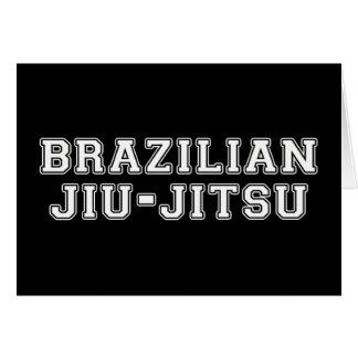 Brazilian Jiu Jitsu Card