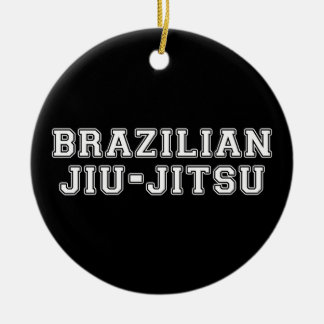 Brazilian Jiu Jitsu Ceramic Ornament