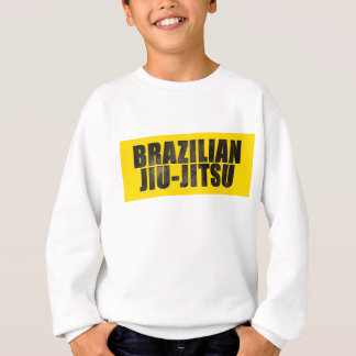 Brazilian Jiu-Jitsu Chiseled Text Sweatshirt