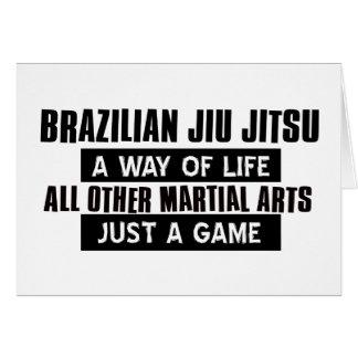 Brazilian Jiu Jitsu Gifts Card
