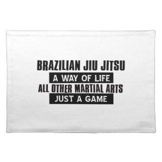 Brazilian Jiu Jitsu Gifts Placemat