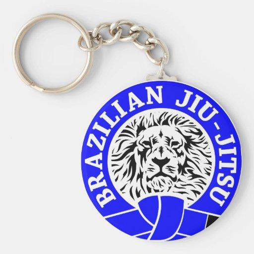 Brazilian Jiu-Jitsu (Key Chain) Blue Belt