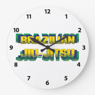 Brazilian Jiu-Jitsu Large Clock