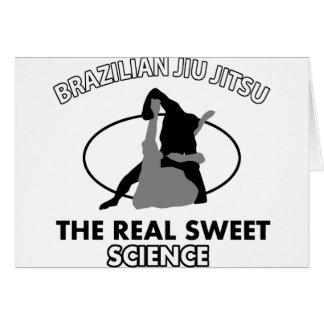 Brazilian Jiu Jitsu Martial arts Card