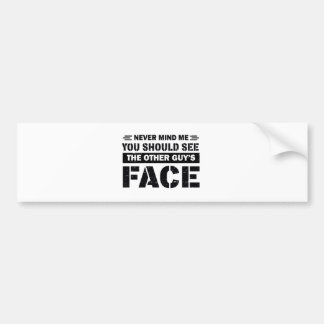 Brazilian Jiu-Jitsu martial arts designs Bumper Sticker