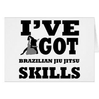 Brazilian Jiu Jitsu Martial Arts designs Card