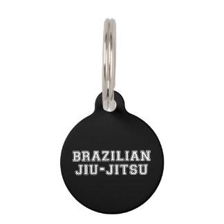 Brazilian Jiu Jitsu Pet Name Tag
