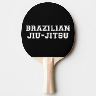 Brazilian Jiu Jitsu Ping Pong Paddle