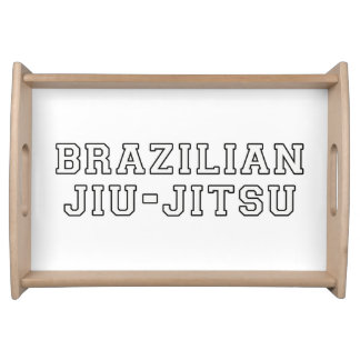 Brazilian Jiu Jitsu Serving Tray