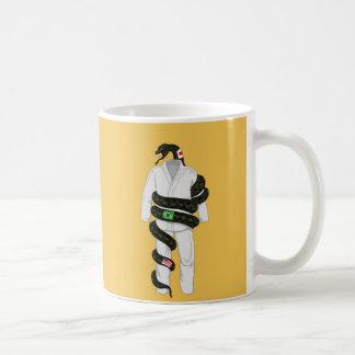 Brazilian Jiu Jitsu Snake Basic White Mug