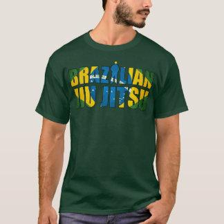 Brazilian Jiu Jitsu T-Shirt in Forest Green