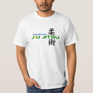 Brazilian Jiu Jitsu with Japanese Characters T-Shirt