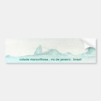 Brazilian landscape bumper sticker