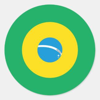 Brazilian Mod Round Sticker
